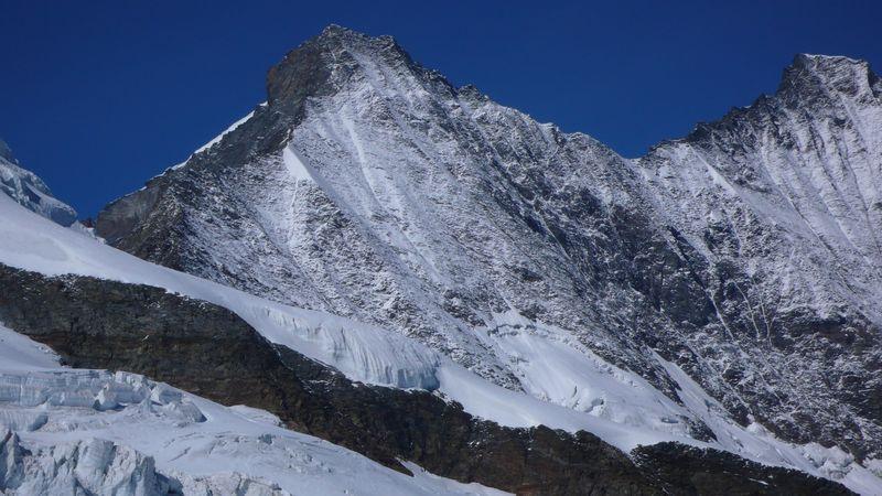 Cresta Sudeste del Taschhorn y cresta Sur del Dom