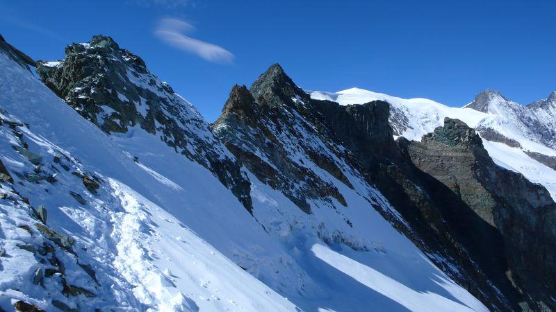 Vista desde el Feejoch 3836m