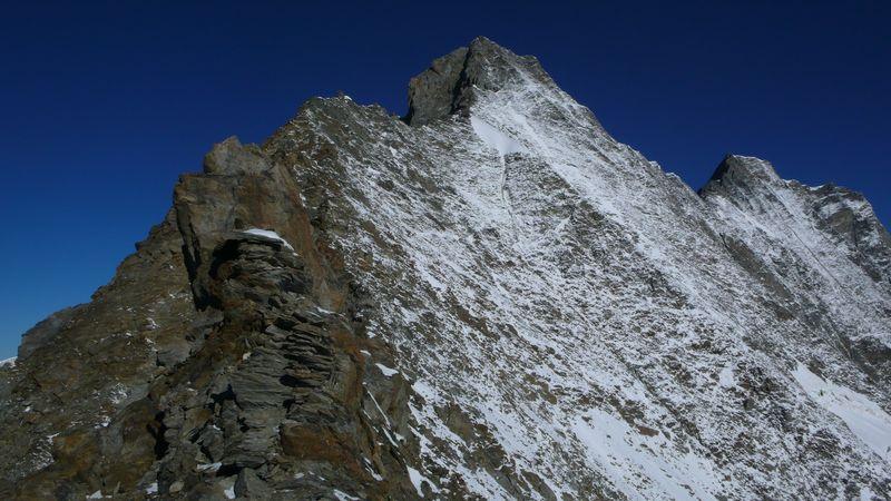 Vista de la parte final de la cresta_1