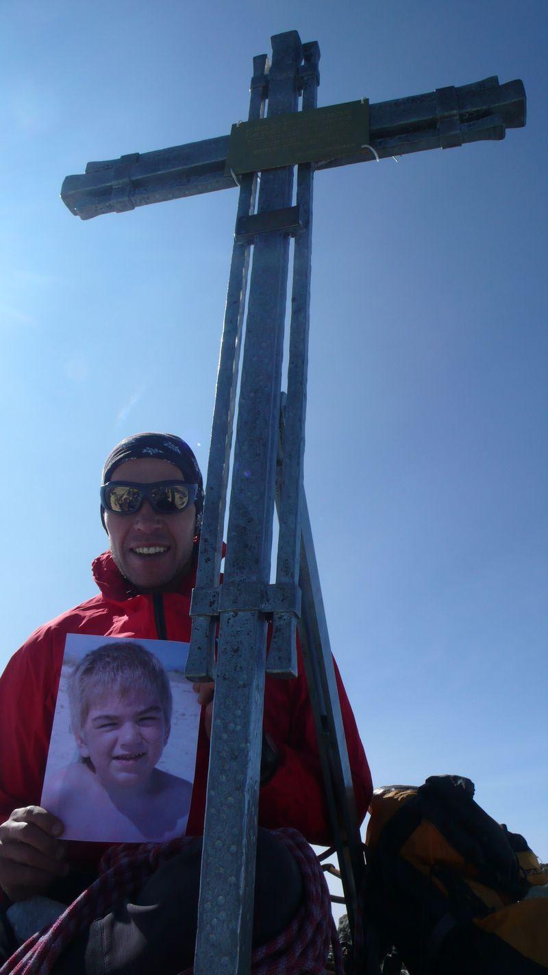 En la cima del Nadelhorn con Artsemi_1