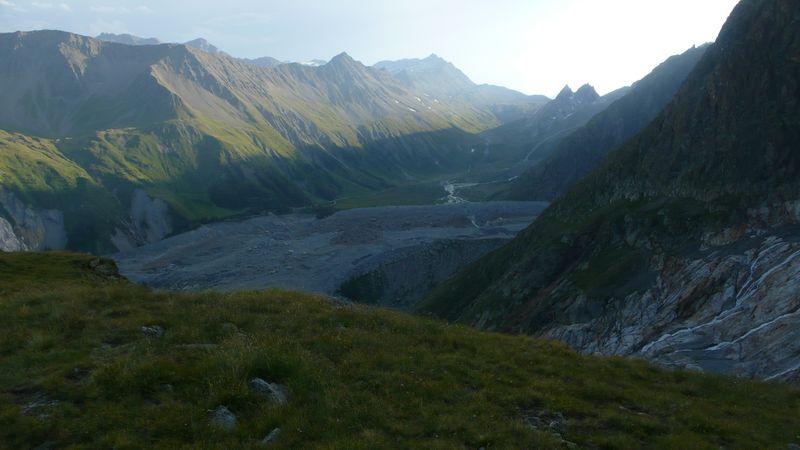 Atardecer en la Val Veny