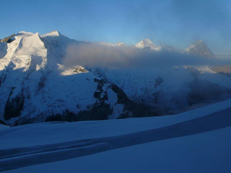 Eiger, Jungfrau y Mönch
