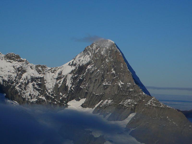 Eiger y su Cresta Mitteleggi