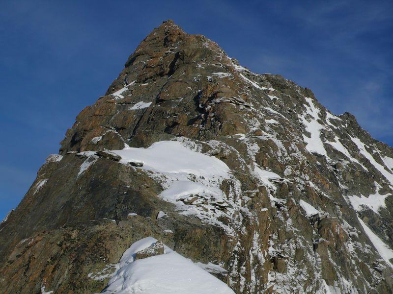 Cresta final del Lauteraarhorn