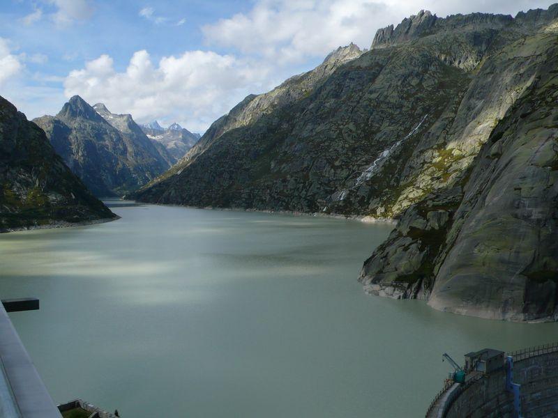 Lago artificial de Grimsel